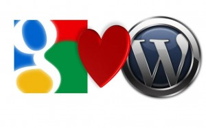 google favicon loves wordpress